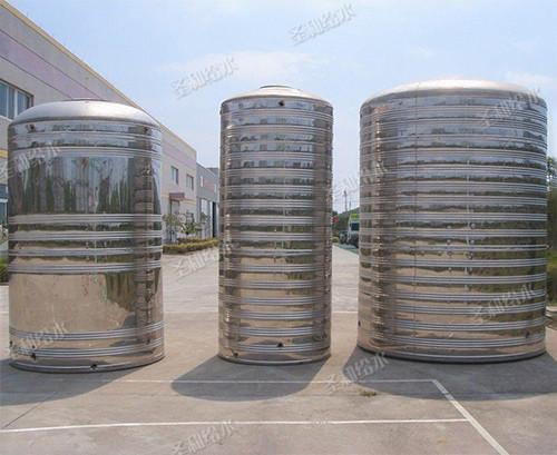 不锈钢圆柱形水箱厂家