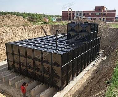 装配式BDF箱泵水箱
